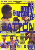 """Ricky Hatton vs Stephy Smith - 11"""" x 17"""", FulcrumGallery.com brand"""
