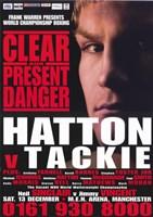 "Ricky Hatton vs Ben Tackie - 11"" x 17"", FulcrumGallery.com brand"