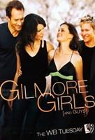 "Gilmore Girls - walking - 11"" x 17"", FulcrumGallery.com brand"