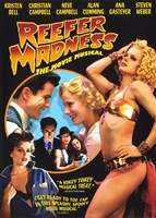 """Reefer Madness: The Movie Musical Kristen Bell - 11"""" x 17"""""""