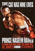 """Prince Naseem Hamed vs Manuel Calvo - 11"""" x 17"""""""