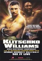 """Vitali Klitschko vs Danny Williams - 11"""" x 17"""""""