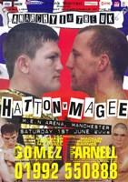 "Ricky Hatton vs. Eamonn Magee - 11"" x 17"", FulcrumGallery.com brand"
