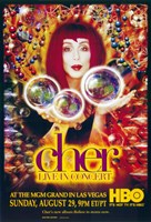 """Cher: Live in Concert - 11"""" x 17"""""""