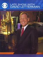 "Late Show with David Letterman - 11"" x 17"", FulcrumGallery.com brand"