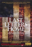 "Last Letters Home: Voices of American Troops from the Battlefields of Iraq - 11"" x 17"" - $15.49"