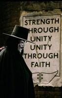 V for Vendetta Sign Fine Art Print