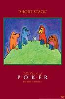 World Series of Poker Short Stack Animals Fine Art Print