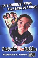 Malcolm in the Middle Fine Art Print