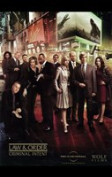 "Law & Order: Criminal Intent TV Cast - 11"" x 17"""