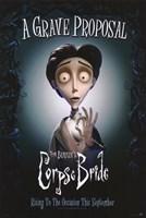 Corpse Bride Grave Proposal Fine Art Print