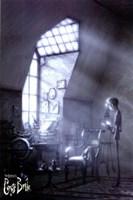 Tim Burton's Corpse Bride Reading Fine Art Print
