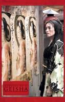 "Memoirs of a Geisha - woman standing by a wall - 11"" x 17"""