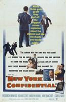 "New York Confidential - 11"" x 17"""