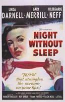 """Night Without Sleep - 11"""" x 17"""""""
