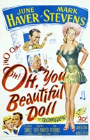 """Oh You Beautiful Doll - 11"""" x 17"""""""