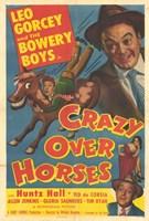 """Crazy Over Horses - 11"""" x 17"""" - $15.49"""