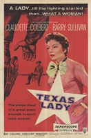 "Texas Lady - 11"" x 17"" - $15.49"