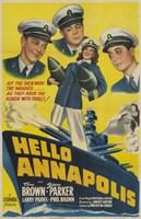"""Hello Annapolis - 11"""" x 17"""""""