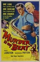 "Murder Is My Beat - 11"" x 17"", FulcrumGallery.com brand"
