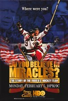 """Do You Believe in Miracles  The Story of the 1980 U.S. Hockey Team - 11"""" x 17"""", FulcrumGallery.com brand"""