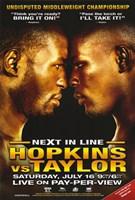 """Bernard Hopkins vs. Jermain Taylor - 11"""" x 17"""""""