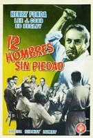 "12 Angry Men - Spanish - 11"" x 17"", FulcrumGallery.com brand"