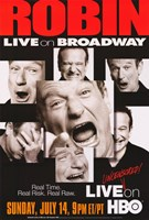 "Robin Williams: Live on Broadway - 11"" x 17"""