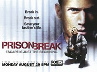 "Prison Break (TV) Break In. Break Out. - 17"" x 11"""