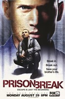 "Prison Break (TV) Dominic Purcell as Lincoln Burrows - 11"" x 17"""