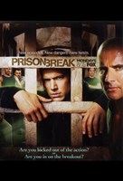 "Prison Break (TV) in Jail Cell - 11"" x 17"""