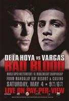 """Oscar De La Hoya vs. Fernando Vargas - 11"""" x 17"""""""