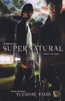 Supernatural (TV) Dean & Sam Winchester Fine Art Print