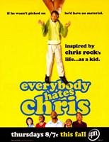 Everybody Hates Chris Fine Art Print