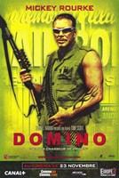 Domino - Mikey Rourke Fine Art Print