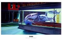 Night Sharks Fine Art Print