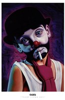 Tramp Clown Boy Fine Art Print