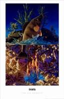 The Sea Monkeys Fine Art Print