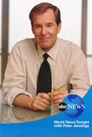 """ABC News with Peter Jennings - 11"""" x 17"""" - $15.49"""