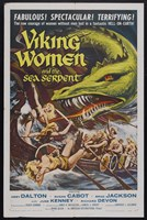 """Viking Women and the Sea Serpent - 11"""" x 17"""""""