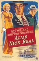 """Alias Nick Beal - 11"""" x 17"""" - $15.49"""