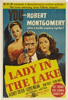 """Lady in the Lake Robert Montgomery - 11"""" x 17"""""""