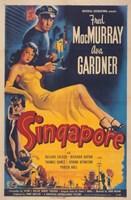 "Singapore - 11"" x 17"""