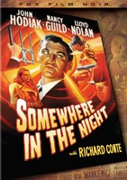 """Somewhere in the Night Richard Conte - 11"""" x 17"""""""