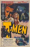 "T-Men - 11"" x 17"", FulcrumGallery.com brand"