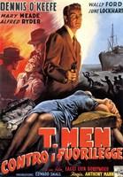 "T-Men (movie poster) - 11"" x 17"""