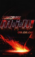 """Mission: Impossible III - 11"""" x 17"""""""
