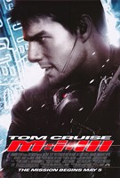 """Mission: Impossible III - side profile - 11"""" x 17"""""""