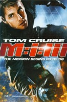"""Mission: Impossible III - Tom Cruise - 11"""" x 17"""""""