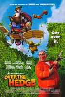 """Over the Hedge - Get over it - 11"""" x 17"""", FulcrumGallery.com brand"""